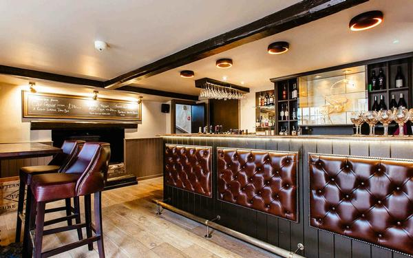 Restaurant renovation and refurbishment by Cambridge builders, Inti Construction